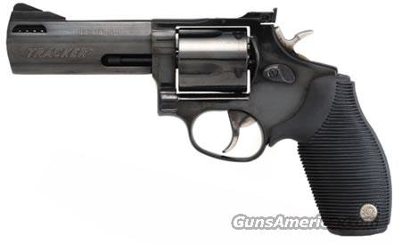 "Taurus 44 Tracker Revolver 2440041TKR, 44 Remington Mag, 4"", Blue Steel Finish, 5 Rd, Adj Sights  Guns > Pistols > Taurus Pistols/Revolvers > Revolvers"