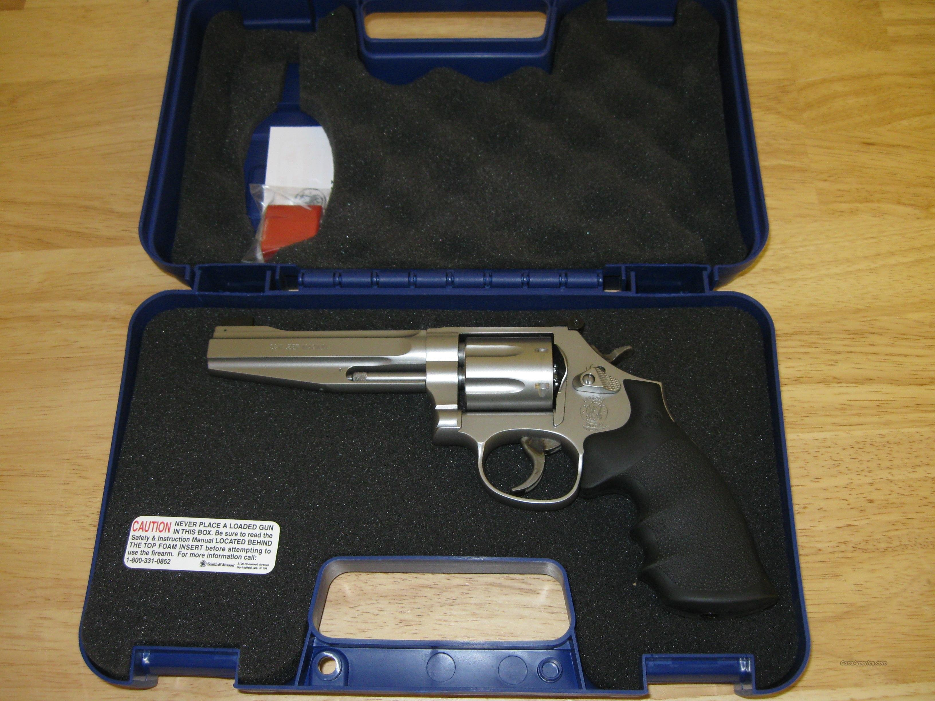 Smith & Wesson M686 Pro Revolver 178038, 357 Mag, 5 in, Matte Stainless Finish, Cut for Moon Clips, 7 Rd  Guns > Pistols > Smith & Wesson Revolvers > Full Frame Revolver