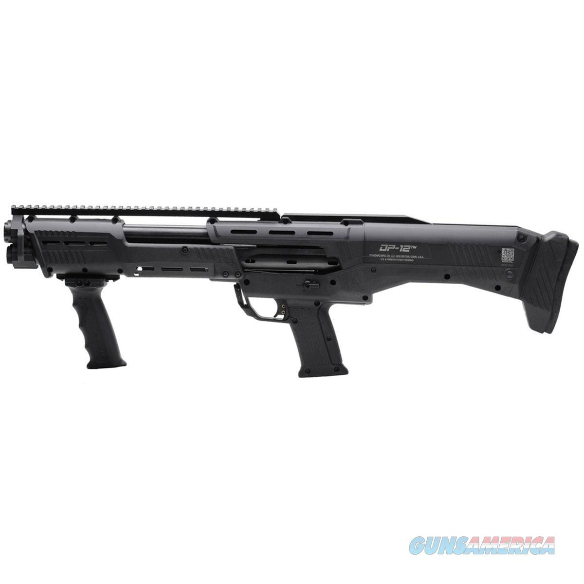STANDARD MFG. CO. LLC DP-12 DOUBLE BARREL PUMP SHOTGUN- BLACK  Guns > Shotguns > A Misc Shotguns