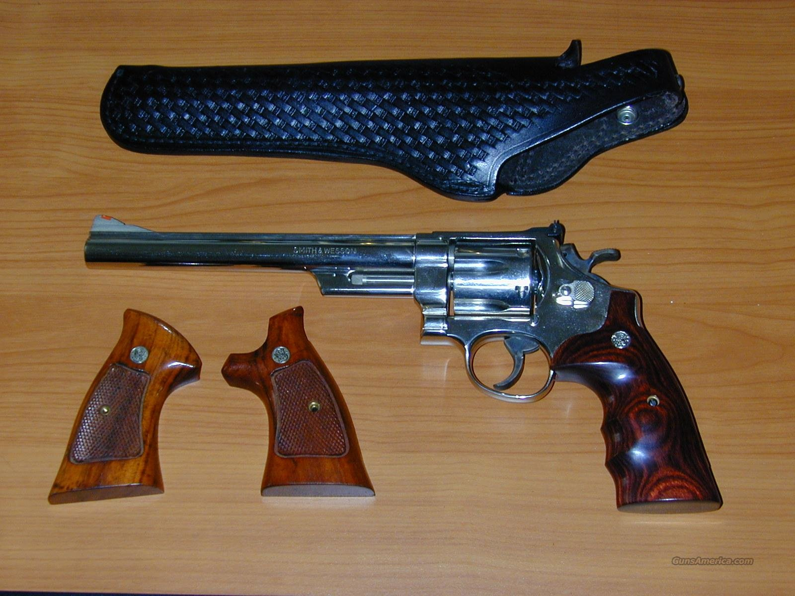 Smith & Wesson Model 25-5 Revolver - Nickel  Guns > Pistols > Smith & Wesson Revolvers > Full Frame Revolver