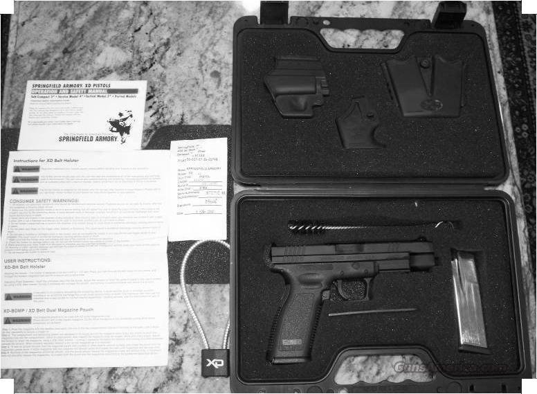 Springfield XD Tactical Full Size .45  Guns > Pistols > Springfield Armory Pistols > XD (eXtreme Duty)