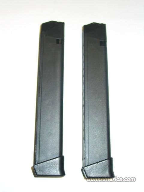 2 GLOCK 22 23 27 .40 S&W cal. or GLOCK 31 32 33 .357 SIG cal or KEL TEC SUB 2000 31rd Magazine Mag Just Right Carbine 40 cal GEN 4  Non-Guns > Magazines & Clips > Pistol Magazines > Glock