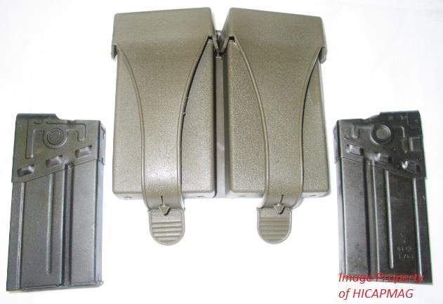 2 H&K 91/G3 PreBAN Magazine Mag+Pouch HK91 HK-91 New  Non-Guns > Magazines & Clips > Rifle Magazines > HK/CETME