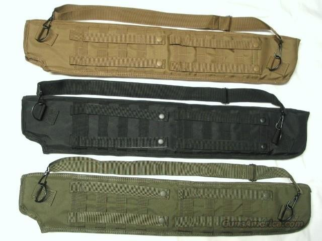 MOLLE TACTICAL SHOTGUN SCABBARD  Saiga 12 VEPR DDI  FN  Remington 870 - Benelli - Mossberg - VEPR 12 and All other Tactical Shotguns  Non-Guns > Gun Cases