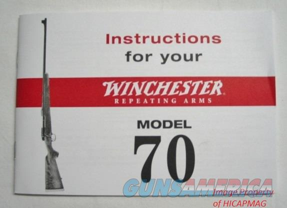 Winchester Model 70 Factory Instruction Manual  Non-Guns > Manuals - Print