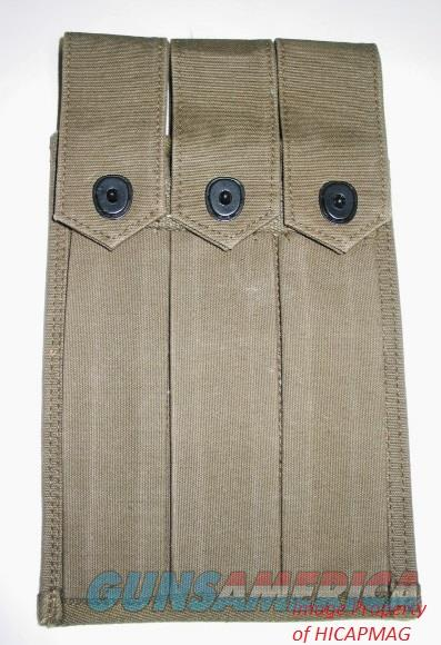 GREASE GUN M3 / M3A1 Magazine 3 MAG Pouch NEW  Non-Guns > Magazines & Clips > Rifle Magazines > Other