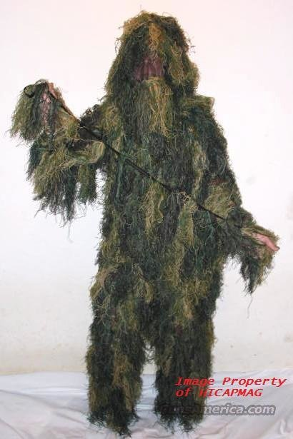 4 Piece PREMIUM TACTICAL GHILLIE SUIT Youth Size 14-16  Non-Guns > Tactical Equipment/Vests