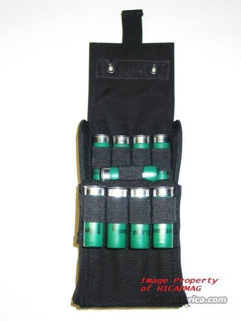 Saiga 12 - Remington 870 - Mossberg - DDI - Lynx 12  and ALL Tactical Shotgun 25rd ShotShell Carrier Shell Pouch  Non-Guns > Shotgun Sports > Shell Bags
