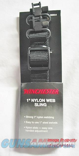 Winchester Factory Nylon Web Sling w/steel swivels  Non-Guns > Gun Parts > Misc > Rifles