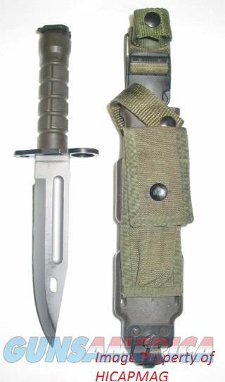 Phrobis III M9 AR15 / M16 Bayonet w/ Sheath EXC. AR 15 M 16  Non-Guns > Knives/Swords > Military > Bayonets