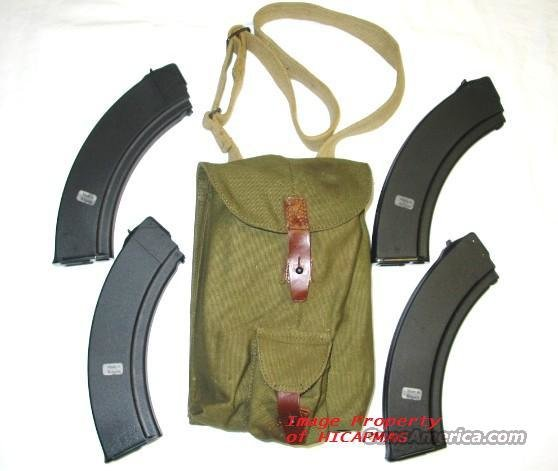 AK 47 (4)  NEW 40RD BULGARIAN MAGAZINES COMPLETE WITH 4 MAG POUCH AK47 MAGAZINE AKM MAK90  Non-Guns > Magazines & Clips > Rifle Magazines > AK Family