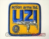 ACTION ARMS LTD. UZI ORIGINAL Machinegun With Magazine mag SHOULDER PATCH  Non-Guns > Logo & Clothing Merchandise