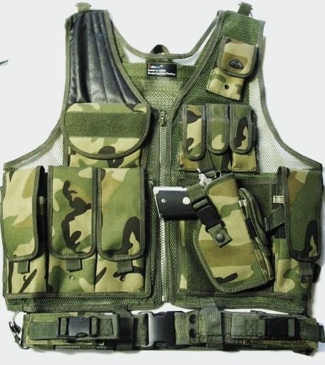 SWAT / MILITARY TACTICAL ASSAULT VEST Camo  Non-Guns > Tactical Equipment/Vests
