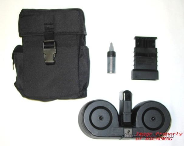 AR15 100rd Beta C Mag Style Drum Magazine  AR15/M16  Non-Guns > Magazines & Clips > Rifle Magazines > Mini 14