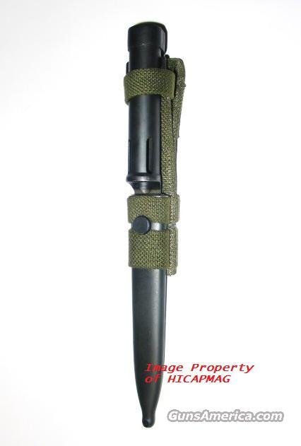FN FAL FN57 BAYONET with SHEATH and FROG Brand NEW  Non-Guns > Knives/Swords > Military > Bayonets