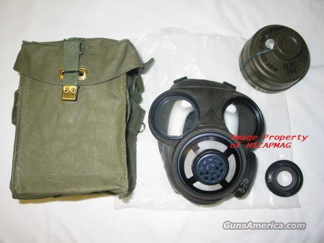 NEW Canadian GAS MASK w/Pouch and Filter -Quality  Non-Guns > Gas Masks