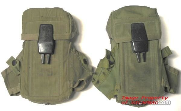 (2)   USGI M16 - AR15  3 30rd .223  MAGAZINE  or  2  M14 - M1A- FN FAL-HK 20rd 308 MAGAZINE Mag POUCHES Pouch  Non-Guns > Magazines & Clips > Rifle Magazines > AR-15 Type
