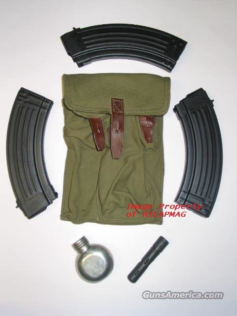 3 PREBAN AK47 30rd  CHINESE MAGAZINE / MAG / MAGS  with Pouch and Accessories  AK 47 AKM AK-47  NEW  Non-Guns > Magazines & Clips > Rifle Magazines > AK Family