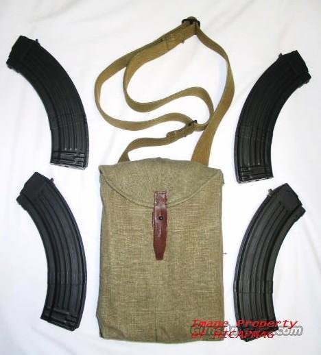 AK47 4 40rd NEW BULGARIAN STEEL RIBBED MAGAZINE/MAG/MAGS/AK 47  Non-Guns > Magazines & Clips > Rifle Magazines > AK Family