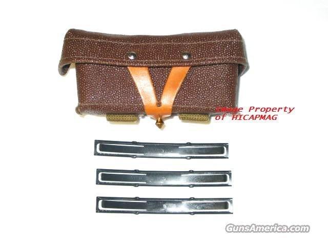RUSSIAN SKS / AK47 3 Stripper Clip Magazine Mag Pouch with Stripper Clips  Non-Guns > Magazines & Clips > Rifle Magazines > SKS