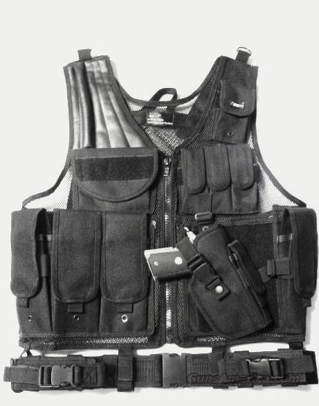 SWAT/MILITARY TACTICAL ASSAULT VEST  Black   Non-Guns > Tactical Equipment/Vests