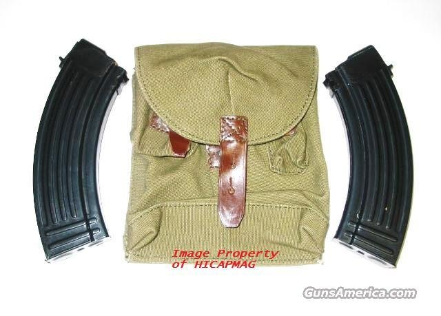 2 PREBAN AK47 30rd CHINESE MAGAZINE/MAG/MAGS/ WITH MAG POUCH  AK 47  AKM NEW  Non-Guns > Magazines & Clips > Rifle Magazines > AK Family