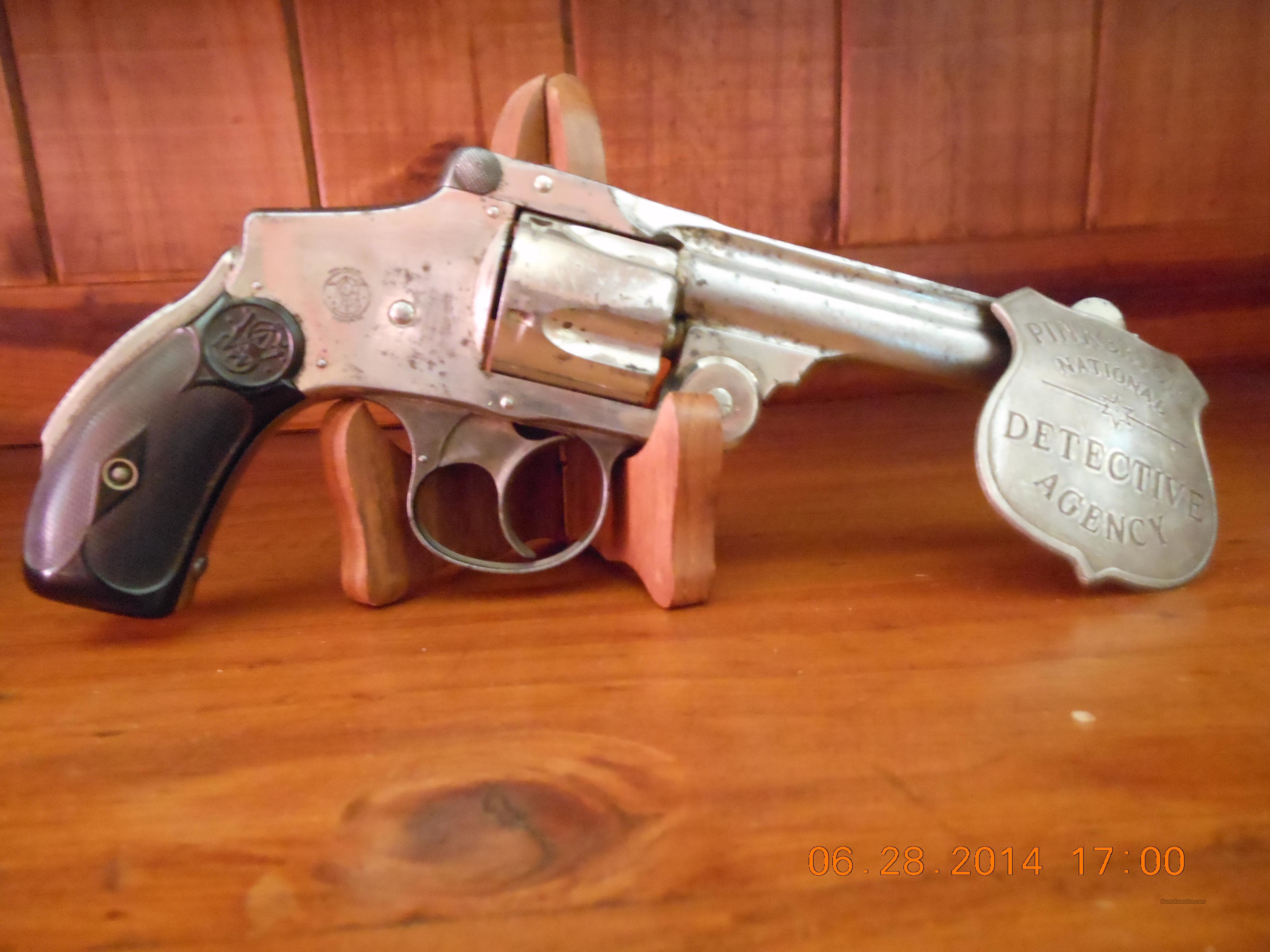 "5th Model S&W Safety .38 S&W Hammerless ""lemon squeezer  Guns > Pistols > Smith & Wesson Revolvers > Pre-1945"