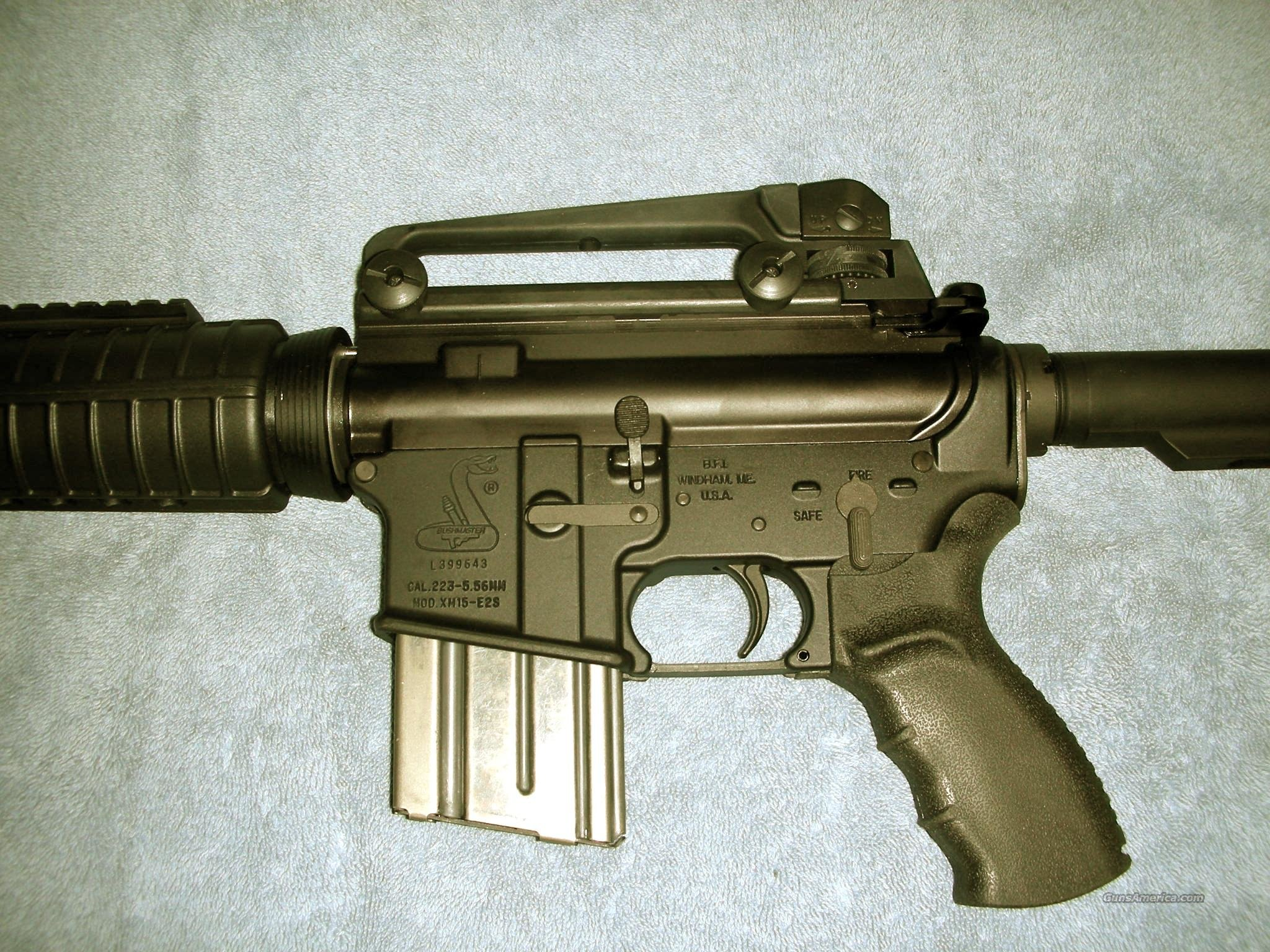 BUSHMASTER XM15-E2S (A4-.223/5.56mm) For Sale