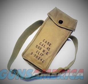 Magazine Shoulder Bag for SMGs, WW2 U.S.  Non-Guns > Magazines & Clips > Shotgun Magazines