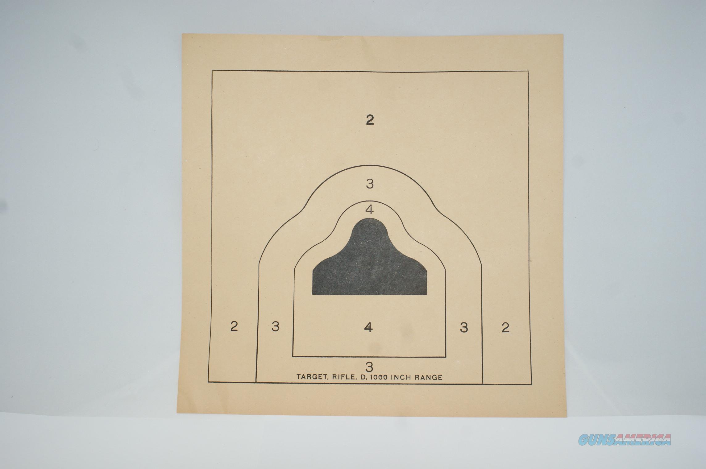 25 Meter (1000 inch) Target 50 PCS.  Non-Guns > Targets > Paper Targets > Standard