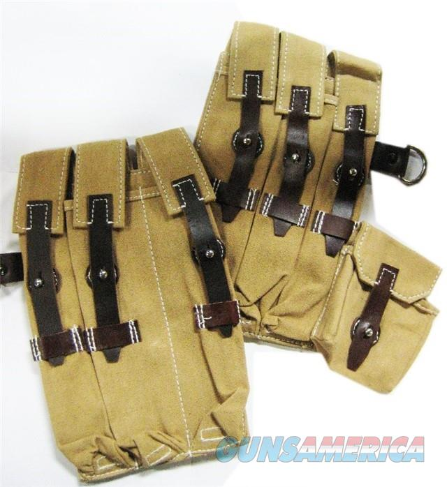 German MP40 Desert Tan Pouch Set  Non-Guns > Holsters and Gunleather > Magazine Holders