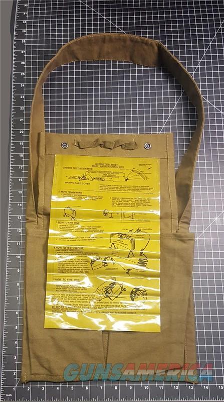 M18A1 U.S. Claymore Mine Bag w/Instructions  Non-Guns > Miscellaneous