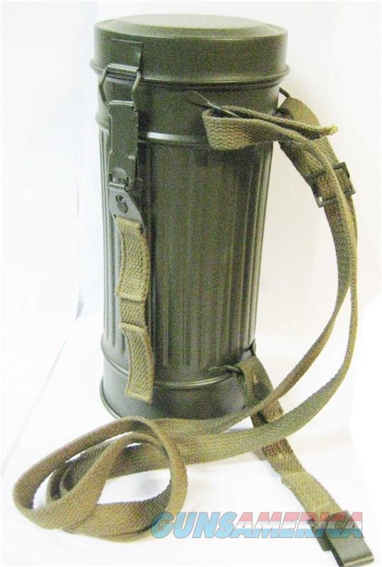 German WW2 Gas Mask Can  Non-Guns > Gas Masks