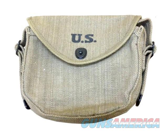 50 Round Drum Pouch for Thompson (REPRODUCTION)  Non-Guns > Magazines & Clips > Subgun Magazines > Clips > Other