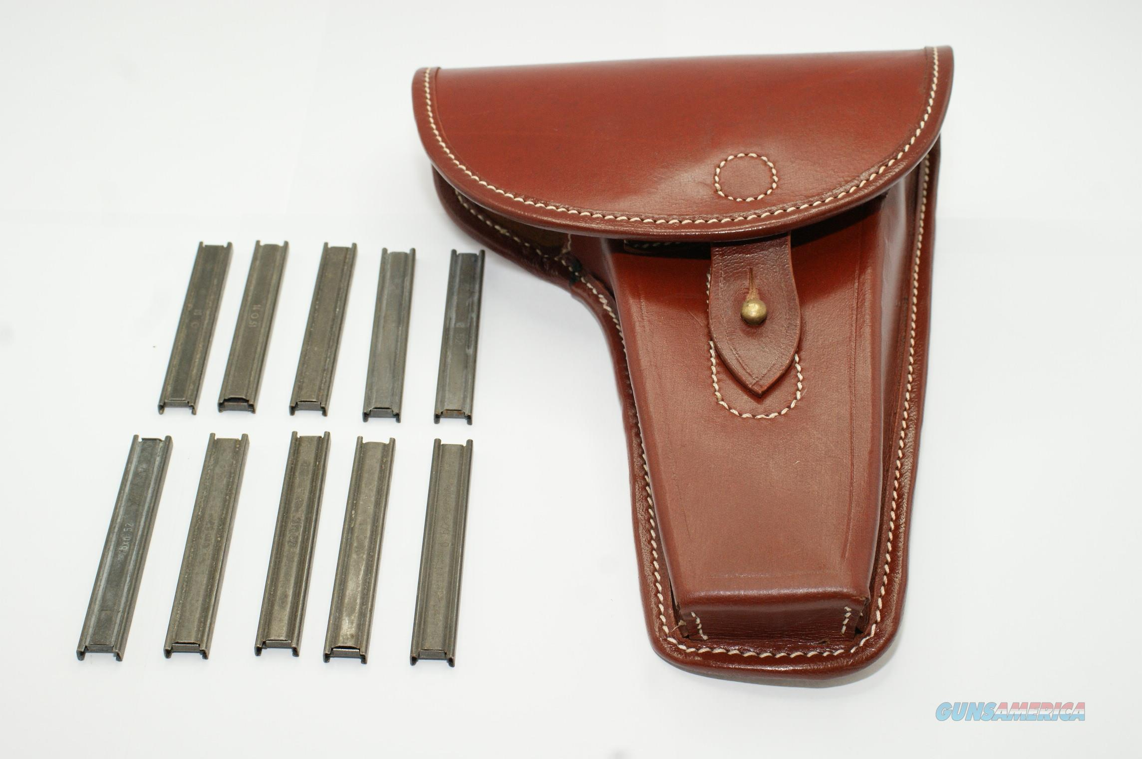Steyr Hahn 1912 Holster With 10 Stripper Clips  Non-Guns > Holsters and Gunleather > Other