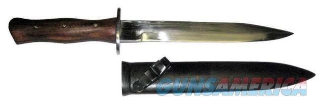 Italian WW2 M91 Fighting Knife & Scabbard, Repro  Non-Guns > Knives/Swords > Military > Non-Bayonets
