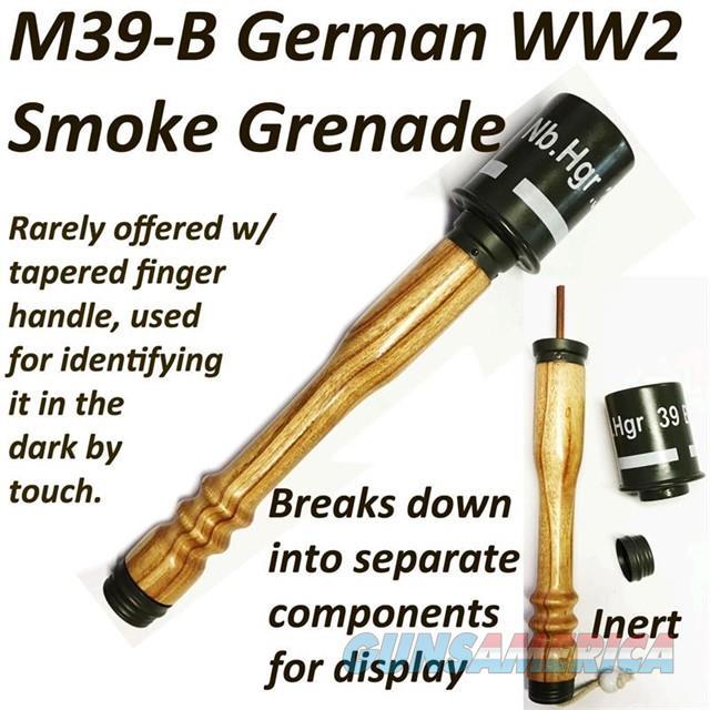 M39B Stick Grenade (INERT)  Non-Guns > Military > Memorabilia