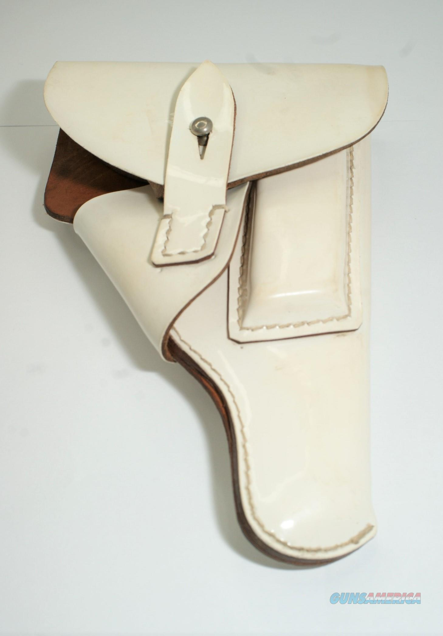 VINTAGE POST WW2 GERMANY WALTHER PP PARADE PISTOL GUN LEATHER HOLSTER  Non-Guns > Holsters and Gunleather > Military