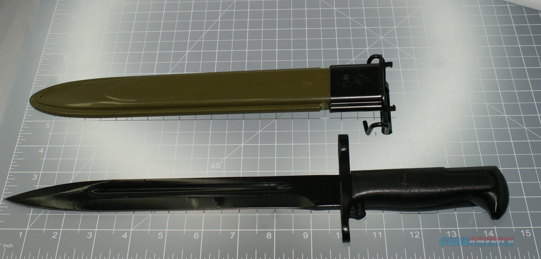 M1 BAYONET WITH M7 SCABBARD 10''  Non-Guns > Knives/Swords > Military > Bayonets