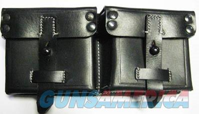 G-43 Leather Double Mag Pouch  Non-Guns > Holsters and Gunleather > Magazine Holders