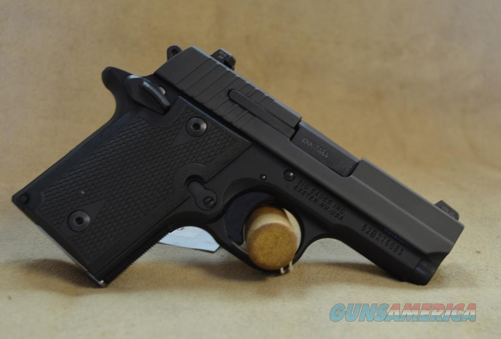 9389BSSAMBI Sig P938 Ambi Nitron - 9mm  Guns > Pistols > Sig - Sauer/Sigarms Pistols > P938