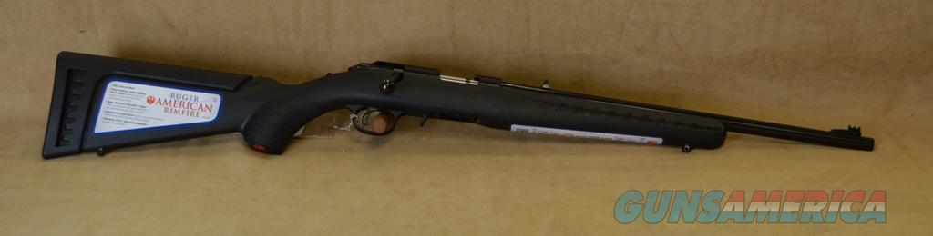 8322 Ruger American w/ Threaded Barrel - 22 Mag  Guns > Rifles > Ruger Rifles > American
