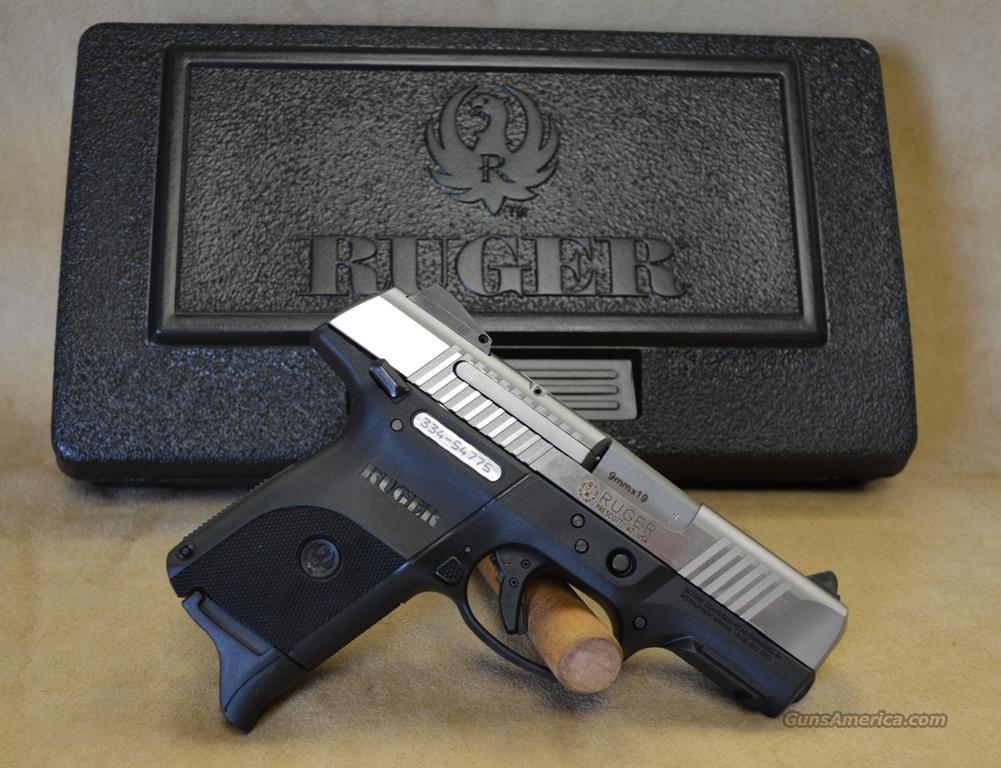 3313 Ruger SR9C Stainless - 9mm  Guns > Pistols > Ruger Semi-Auto Pistols > SR Family > SR9C