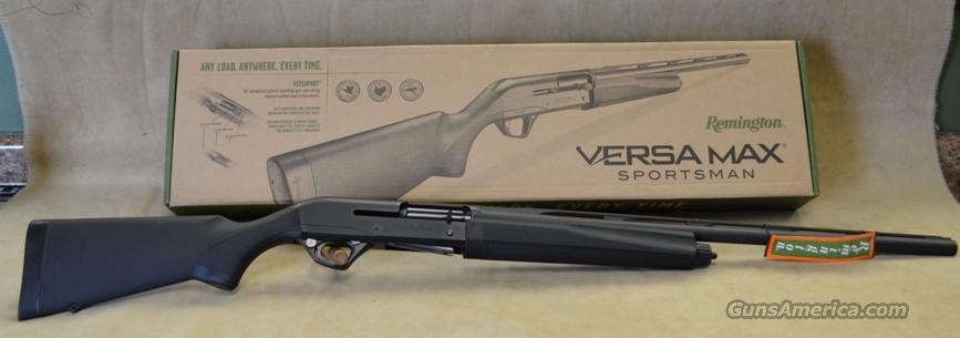"81046 Remington Versamax Sportsman Black 26"" - 12 gauge  Guns > Shotguns > Remington Shotguns  > Autoloaders > Hunting"