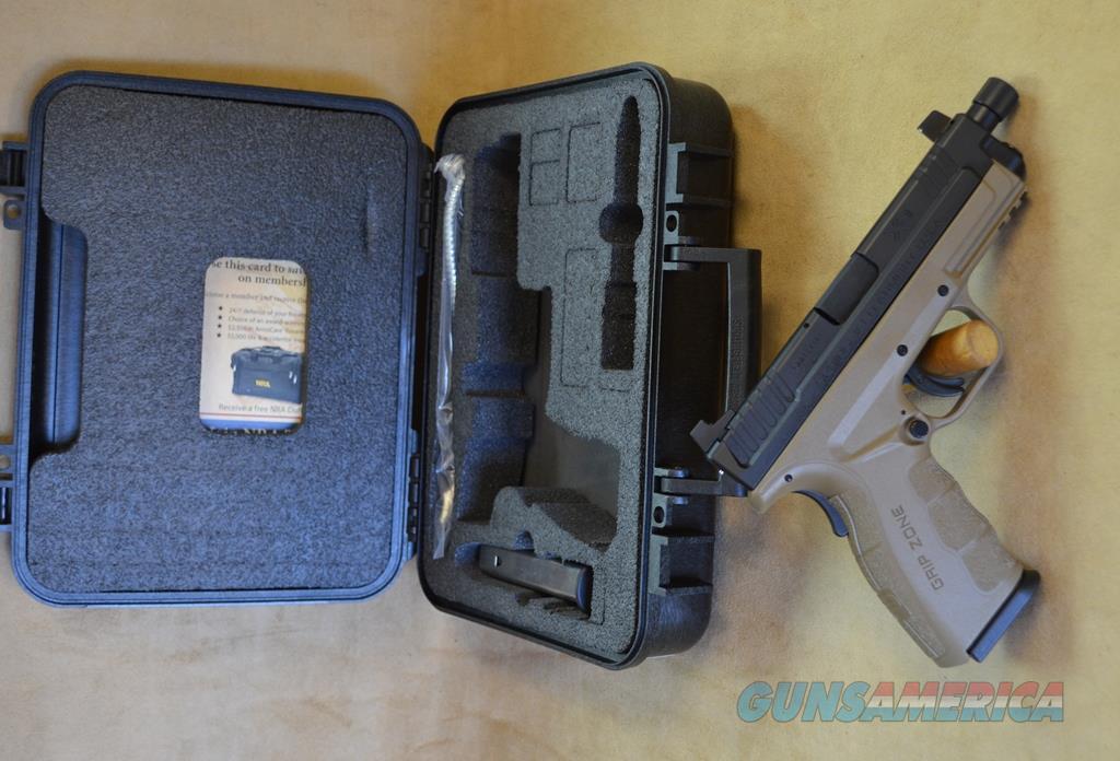 XDGT9101FDEHC Springfield Armory XD Mod 2 Threaded FDE - 9mm  Guns > Pistols > Springfield Armory Pistols > XD-Mod.2