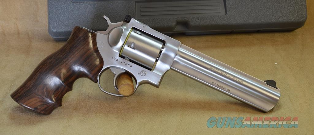 "1759 Ruger GP100 Talo Excl 6.5"" SS -357 Mag  Guns > Pistols > Ruger Double Action Revolver > GP100"