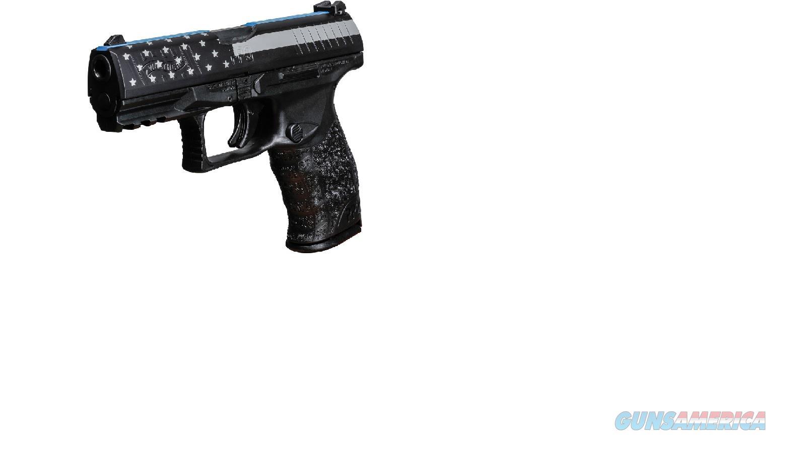 "2796066BL Walther Blue Line PPQ M2 4""- 9mm   Guns > Pistols > Walther Pistols > Post WWII > P99/PPQ"