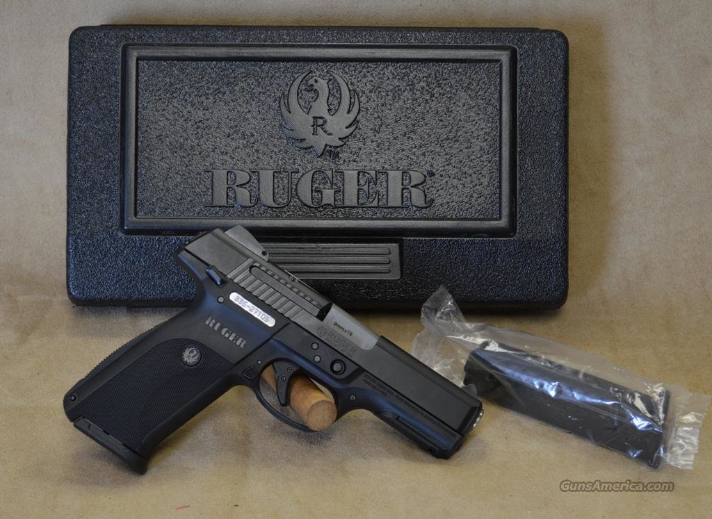3321 Ruger SR9 Blued - 9mm  Guns > Pistols > Ruger Semi-Auto Pistols > SR Family > SR9