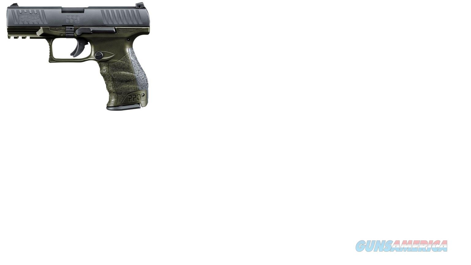 "2819252 Walther PPQ M2 OD Green Frame 4"" - 9mm  EXCL.  Guns > Pistols > Walther Pistols > Post WWII > P99/PPQ"
