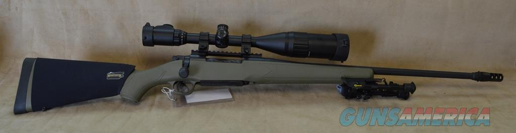27925 Mossberg Patriot Night Train Package - 300 Win Mag  Guns > Rifles > Mossberg Rifles > Patriot